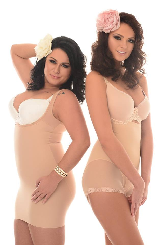 Naomi&Nicole - halka modelująca z wewnętrznym body; Eldar - majtki model Violetta